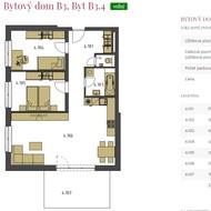 Predaj 3i bytu B3.4 s pozemkom vo vysokom štandarde