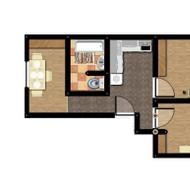 Predaj 3-izbového bytu v centre mesta Malacky.
