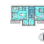 B4 - predaj skolaudovaného 4i bytu v centre Malaciek - Projekt Pioli
